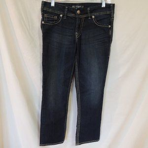 Silver Jeans capris Frances womens size 29